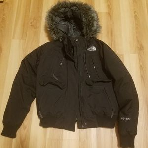 EUC The North Face Hyvent Goose Down Jacket